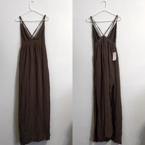 TOBI | Brown Maxi Dress